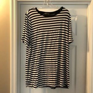Striped Tunic T-Shirt